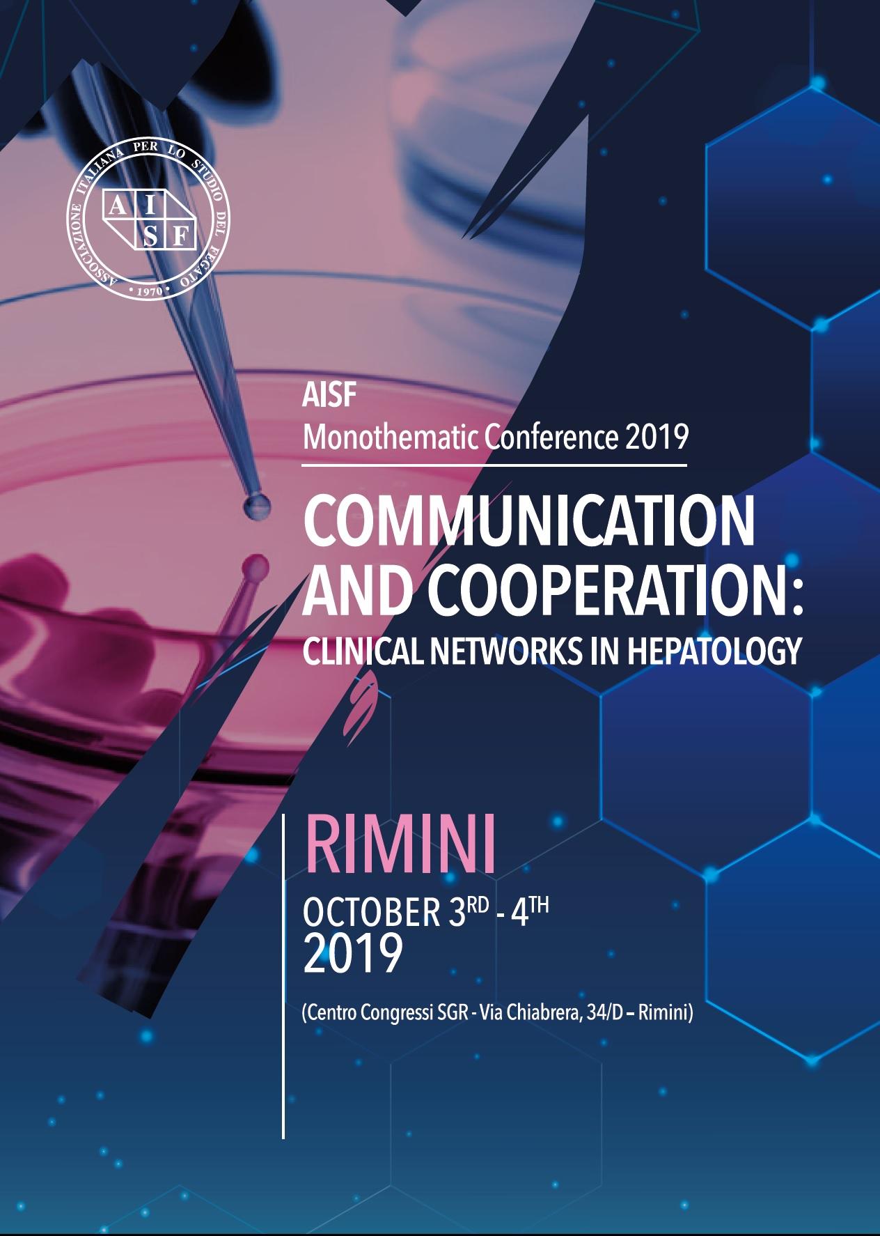 Riunione Monotematica AISF 2019 – Rimini, 3.4 Ottobre 2019